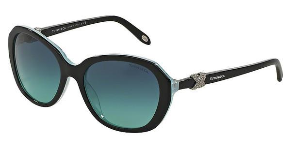 Tiffany TF4108B 81939S BLUE GRADIENTBLACK/STRIPED BLUE