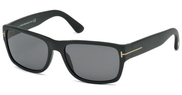 Tom Ford FT0445 02D grau polarisierendschwarz matt