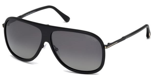 Tom Ford FT0462 01D grau polarisierendschwarz glanz