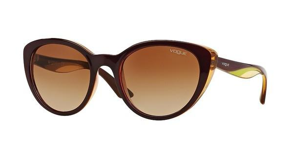 Vogue VO2963S 228713 BROWN GRADIENTTOP PURPLE/YELLOW