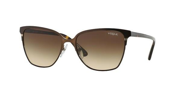Vogue VO3962S 934S13 BROWN GRADIENTMATTE BRUSHED BROWN