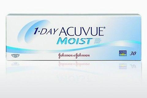 Lentilles de contact Johnson & Johnson 1 DAY ACUVUE MOIST 1DM-90P-REV