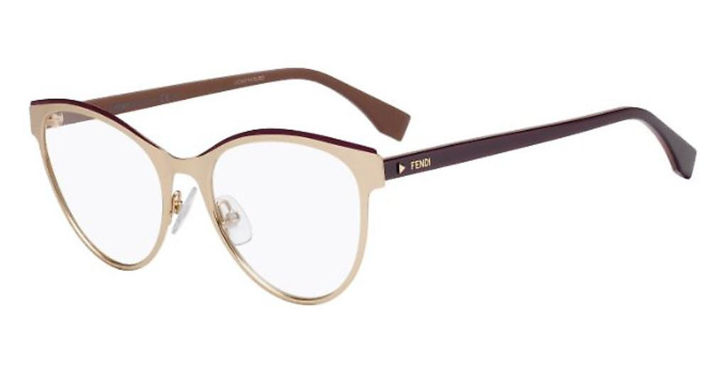 Fendi   FF 0278 VO1 GOLD PLUM