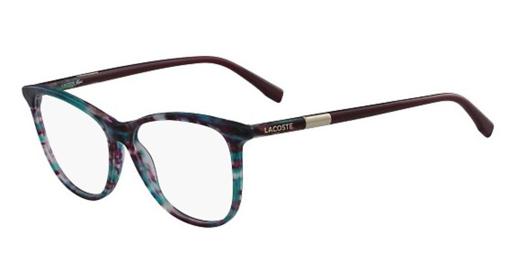 Lacoste   L2822 444 STRIPED AQUA CYCLAMEN