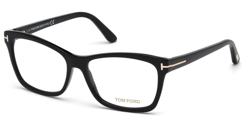 Tom Ford   FT5424 001 schwarz glanz