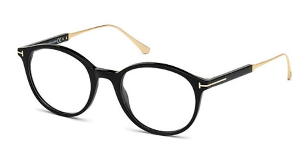 Tom Ford   FT5485 001 schwarz glanz