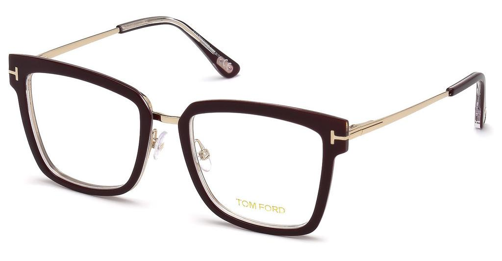 Tom Ford   FT5507 071 bordeaux