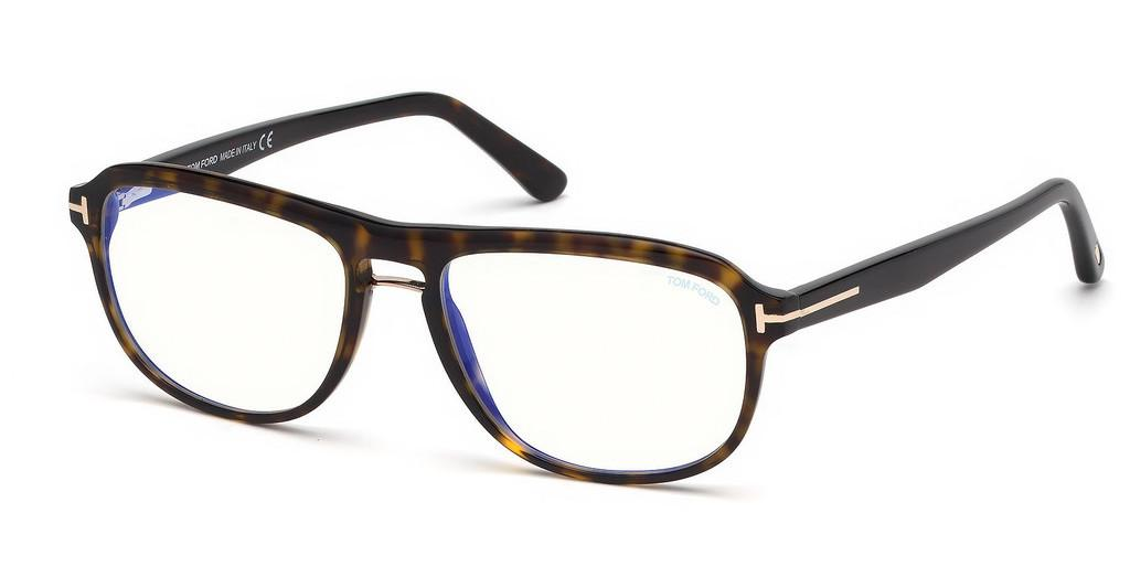 Tom Ford   FT5538-B 052 havanna dunkel