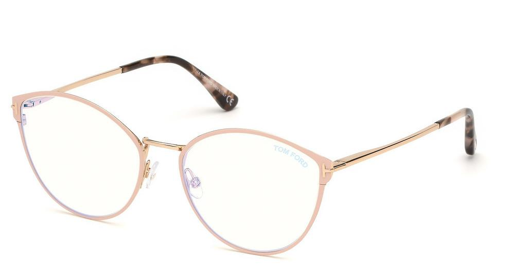 Tom Ford   FT5573-B 072 rosa glanz