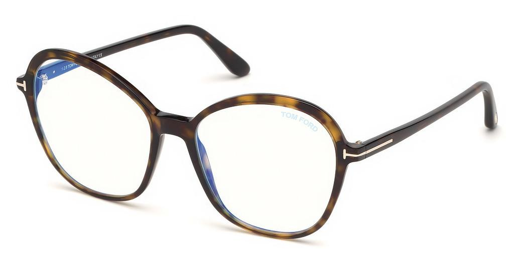 Tom Ford   FT5577-B 052 havanna dunkel