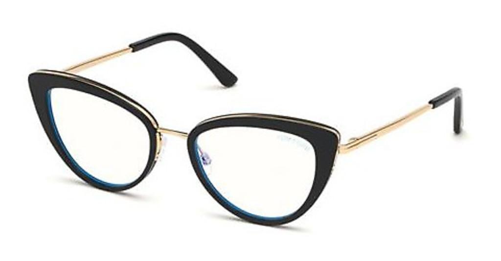 Tom Ford   FT5580-B 052 havanna dunkel