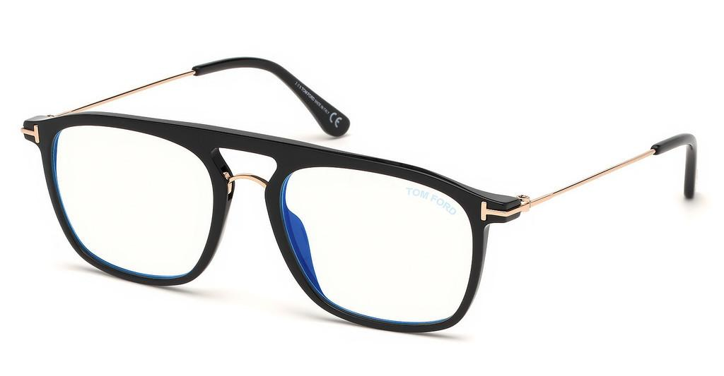Tom Ford   FT5588-B 001 schwarz glanz