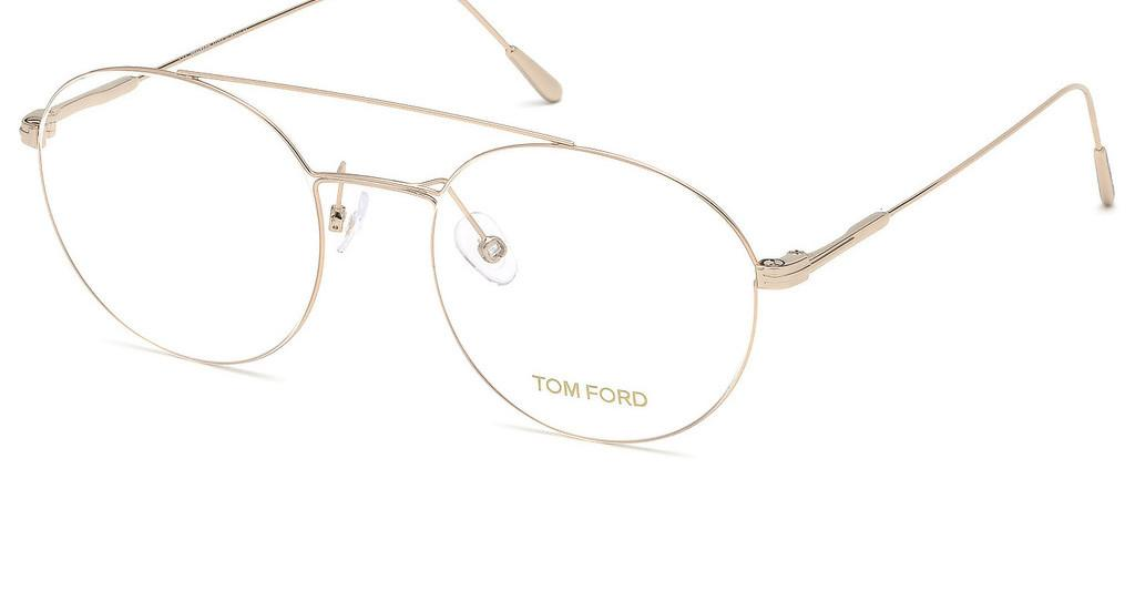 Tom Ford   FT5603 028 rosé-gold glanz