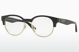 Lunettes design Burberry BE2261 3001 - Noires, Or
