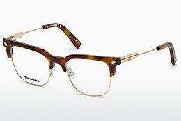 Occhiali design Dsquared DQ5243 053 - Avana, Yellow, Blond, Brown