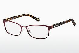Lunettes design Fossil FOS 6065 RUC - Rouges