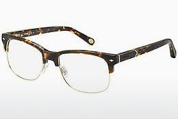 Lunettes design Fossil FOS 6076 RWG - Brunes, Havanna