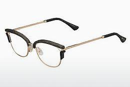 Lunettes design Jimmy Choo JC169 PSW - Or, Noires