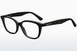 Lunettes design Jimmy Choo JC188 AE2 - Noires, Or