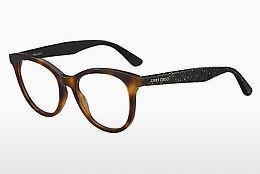 JIMMY CHOO Jimmy Choo Damen Brille » JC185/F«, braun, 086 - braun