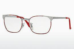Lunettes design Ray-Ban Junior RY1051 4053 - Grises, Rouges