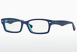 Designerbrillen Ray-Ban Junior RY1530 3587 - Blau, Transparent
