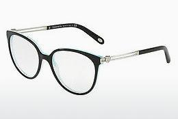 Occhiali design Tiffany TF2152 8193 - Nero, Marrone, Avana, Blu