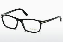 Occhiali design Tom Ford FT5295 001 - Nero, Shiny