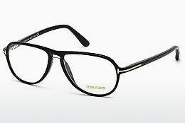 Occhiali design Tom Ford FT5380 001 - Nero, Shiny