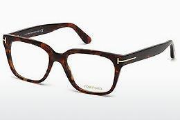Occhiali design Tom Ford FT5477 054 - Rosso, Marrone, Avana