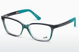Occhiali design Web Eyewear WE5188 089 - Blu, Verde