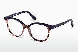 Occhiali design Web Eyewear WE5196 056 - Marrone, Avana