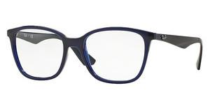 Ray-Ban RX7066 5584 TRASPARENT BLUE