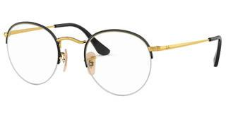 Ray-Ban RX3947V 2946 GOLD ON TOP BLACK