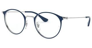 Ray-Ban RX6378 3027 SILVER ON TOP BLUE