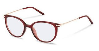 Rodenstock R5312 B dark red, rose gold