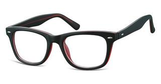 Sunoptic CP163 C Matt Black/Red