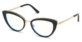 Tom Ford FT5580-B 001 schwarz glanz