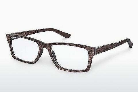 Occhiali design Wood Fellas Maximilian (10901 ebony)