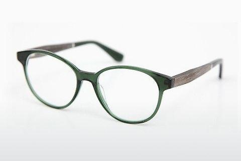 Occhiali design Wood Fellas Haldenwang (10972 grey oak/crystal green)