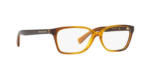 MICHAEL KORS Michael Kors Damen Brille »INDIA MK4039«, orange, 3218 - orange