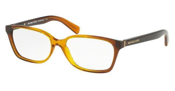MICHAEL KORS Michael Kors Damen Brille »INDIA MK4039«, orange, 3218 - orange