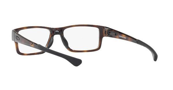 Oakley Herren Brille »AIRDROP MNP OX8121«, braun, 812104 - braun