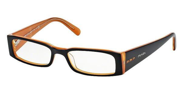 Prada   PR 10FV 2BX1O1 TOP BLACK ON ORANGE