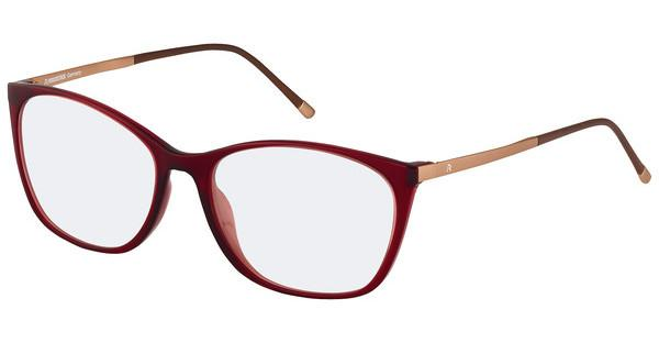 Rodenstock   R5293 G dark red / rose gold