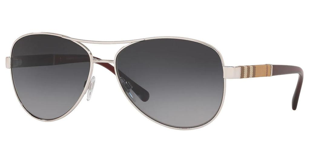Burberry   BE3080 1300T3 GRADIENT GREY POLARSILVER