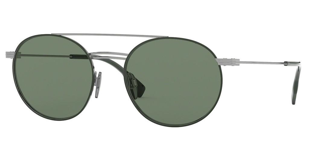 Burberry   BE3109 100371 GREENGUNMETAL/MATTE GREEN