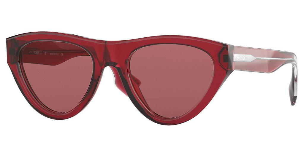 Burberry   BE4285 379675 DARK VIOLETTRANSPARENT RED