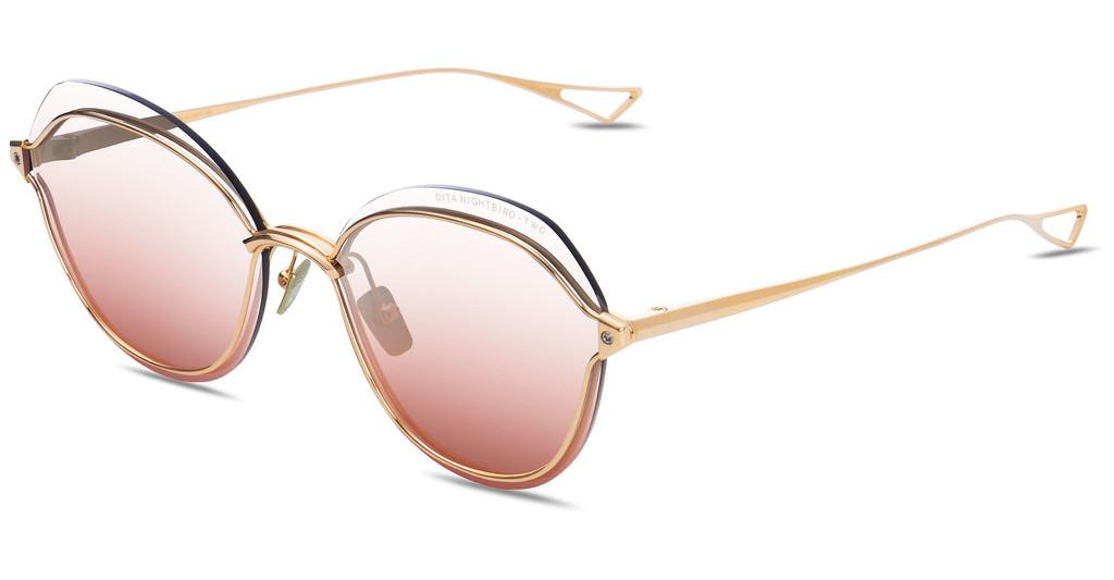 DITA   DTS-519 03 Clear to Amber Rose Gradient - ARYellow Gold