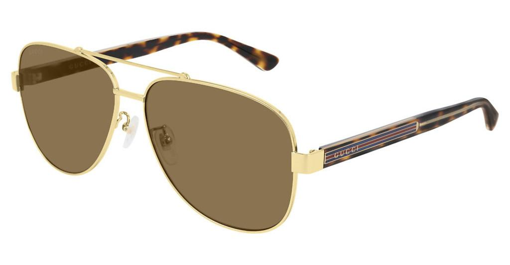 Gucci   GG0528S 008 BROWNGOLD